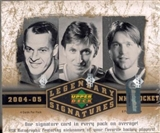 2004/05 Upper Deck SP Legendary Signatures Hockey Hobby Box