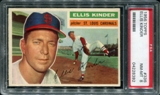 1956 Topps Baseball #336 Ellis Kinder PSA 8 (NM-MT) *8392