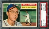 1956 Topps Baseball #170 Bill Virdon PSA 8 (NM-MT) *8568