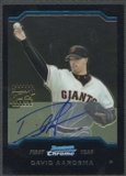 2004 Bowman Chrome #349 David Aardsma RC Auto