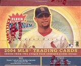 2004 Fleer Platinum Baseball Hobby Box