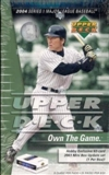 2004 Upper Deck Series 1 Baseball Hobby Box