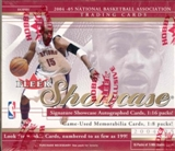 2004/05 Fleer Showcase Basketball Hobby Box