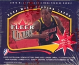2004 Fleer Ultra WNBA Basketball Hobby Box