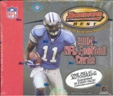 2004 Bowman's Best Football Hobby Box