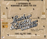 2004 Donruss Leather and Lumber Baseball Hobby Box