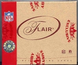 2004 Fleer Flair Football Hobby Box