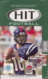 2004 Sage Hit Football Hobby Box