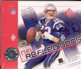 2004 Upper Deck Reflections Football Hobby Box