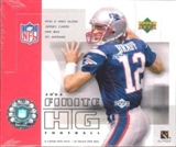 2004 Upper Deck Finite Football Hobby Box