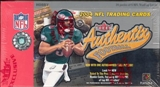 2004 Fleer Authentix Football Hobby Box
