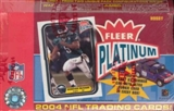 2004 Fleer Platinum Football Hobby Box