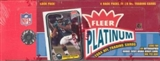 2004 Fleer Platinum Football Rack Box