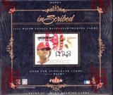 2004 Fleer Inscribed Baseball Hobby Box