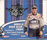2004 Press Pass Wheels High Gear Racing Hobby Box