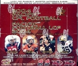 2004 Pacific CFL Football Hobby Box