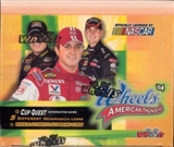 2004 Press Pass Wheels American Thunder Racing Hobby Box (2 Event Used Per Box)