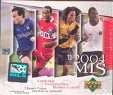 2004 Upper Deck MLS Major League Soccer Hobby Box