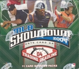 WOTC MLB Showdown 2004 Trading Deadline Baseball Booster Box