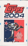 2004 Topps Series 2 Baseball 36 Pack Box