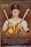 2004 Upper Deck SP Legendary Cuts Baseball Base Set (NM-MT)
