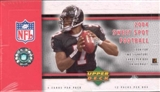 2004 Upper Deck Sweet Spot Football Hobby Box