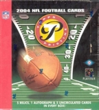 2004 Topps Pristine Football Hobby Box
