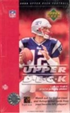 2004 Upper Deck Football Hobby Box