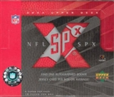 2004 Upper Deck SPx Football Hobby Box