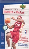 2005/06 Upper Deck Rookie Debut Basketball Hobby Box