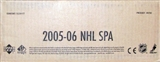 2005/06 Upper Deck SP Authentic Hockey Hobby 12-Box Case