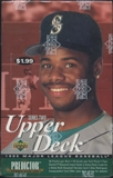 1995 Upper Deck Series 2 Baseball Prepriced Box
