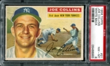 1956 Topps Baseball #21 Joe Collins PSA 8 (NM-MT) *6985