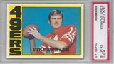 1972 Topps Football Steve Spurrier PSA 6 (EX-MT) *5142