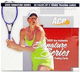 2005 ACE Signature Series Tennis Hobby Box