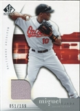 2005 Upper Deck SP Authentic Jersey #70 Miguel Tejada /199