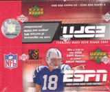 2005 Upper Deck ESPN Football Hobby Box