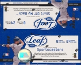 2005 Leaf Baseball 24 Pack Box