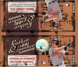 2005 Donruss Leather & Lumber Baseball 24 Pack Box