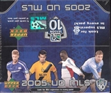 2005 Upper Deck MLS Major League Soccer Hobby Box