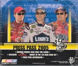 2005 Press Pass Racing Hobby Box