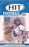 2005 Sage Hit Football Hobby Box
