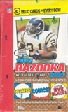 2005 Topps Bazooka Football Hobby Box