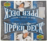 2006/07 Upper Deck Series 1 Hockey 24 Pack Box