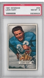 1951 Bowman Football Leon Hart PSA 8 (NM-MT) *9926