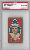 1909-11 Gold Border Tris Speaker PSA 4 (VG-EX) *3751