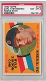 1960 Topps Baseball #148 Carl Yastrzemski PSA 8 (NM-MT) Rookie *2514