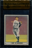 1941 Play Ball Baseball #71 Joe DiMaggio Beckett Raw Card Review 7.5 *8728