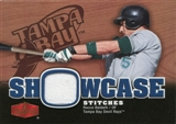 2006 Flair Showcase Stitches #RB Rocco Baldelli Jsy