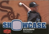 2006 Flair Showcase Showcase Stitches Jersey #MB Mark Buehrle